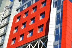 Τοίχοι ενός σύγχρονου κτηρίου Στοκ Φωτογραφία