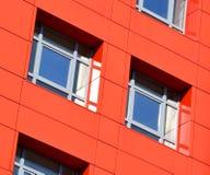 Τοίχοι ενός σύγχρονου κτηρίου Στοκ Φωτογραφίες