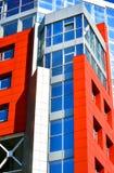 Τοίχοι ενός σύγχρονου κτηρίου Στοκ φωτογραφίες με δικαίωμα ελεύθερης χρήσης