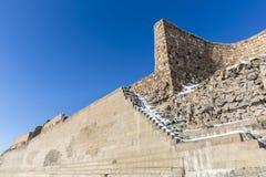 Τοίχοι πόλεων της αρχαίας πόλης Ani, Kars, Τουρκία Στοκ φωτογραφία με δικαίωμα ελεύθερης χρήσης