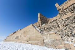 Τοίχοι πόλεων της αρχαίας πόλης Ani, Kars, Τουρκία Στοκ φωτογραφίες με δικαίωμα ελεύθερης χρήσης