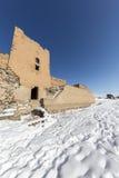 Τοίχοι πόλεων της αρχαίας πόλης Ani, Kars, Τουρκία Στοκ Εικόνα