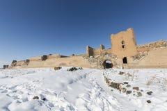 Τοίχοι πόλεων της αρχαίας πόλης Ani, Kars, Τουρκία Στοκ εικόνα με δικαίωμα ελεύθερης χρήσης