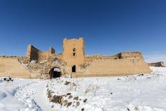 Τοίχοι πόλεων της αρχαίας πόλης Ani, Kars, Τουρκία Στοκ Φωτογραφία