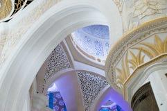 Τοίχοι στο μεγάλο μουσουλμανικό τέμενος Στοκ φωτογραφίες με δικαίωμα ελεύθερης χρήσης