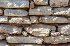 Τοίχοι τεκτονικών της πέτρας Στοκ Φωτογραφία