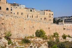 τοίχοι της Ιερουσαλήμ Στοκ φωτογραφία με δικαίωμα ελεύθερης χρήσης