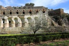 Τοίχοι της πόλης της Πομπηίας, Ιταλία Στοκ φωτογραφία με δικαίωμα ελεύθερης χρήσης