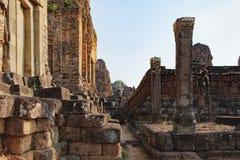 Τοίχοι του προ ναού Rup στην Καμπότζη Στοκ Φωτογραφίες