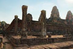Τοίχοι του προ ναού Rup στην Καμπότζη Στοκ Εικόνες