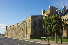 Τοίχοι του Castle της παλαιάς πόλης Αγίου Malo Στοκ φωτογραφίες με δικαίωμα ελεύθερης χρήσης