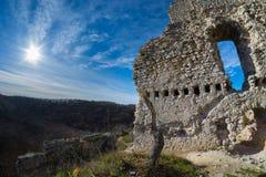 Τοίχοι του Castle Vità ¡ nyvà ¡ ρ, Ουγγαρία Στοκ Εικόνα