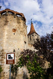 Τοίχοι φρουρίων Aiud στην Τρανσυλβανία Ρουμανία στοκ εικόνες με δικαίωμα ελεύθερης χρήσης