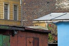 τοίχοι Στοκ Φωτογραφία