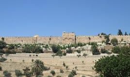 Τοίχοι Anscient της Ιερουσαλήμ, Ισραήλ Στοκ εικόνες με δικαίωμα ελεύθερης χρήσης