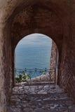 Τοίχοι Fortrified Nafplio στοκ φωτογραφίες