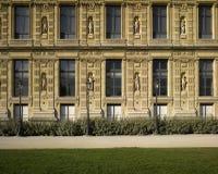 τοίχοι LE louvre Παρίσι στοκ φωτογραφία με δικαίωμα ελεύθερης χρήσης