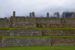 Τοίχοι Picchu Machu στοκ εικόνα