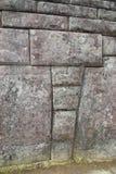 τοίχοι picchu machu inca Στοκ Εικόνες