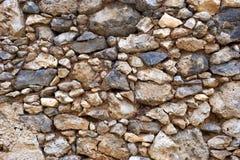 Τοίχος ή μονοπάτι πετρών Στοκ Φωτογραφίες