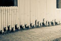 τοίχος αγωγών Στοκ φωτογραφία με δικαίωμα ελεύθερης χρήσης