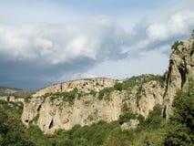 Τοίχος αναρρίχησης βράχου σε Geyikbayiri, Τουρκία Στοκ φωτογραφίες με δικαίωμα ελεύθερης χρήσης