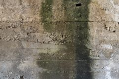 Τοίχος απορρίψεων Στοκ φωτογραφία με δικαίωμα ελεύθερης χρήσης