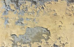 τοίχος αποφλοίωσης χρωμάτων Στοκ Εικόνα