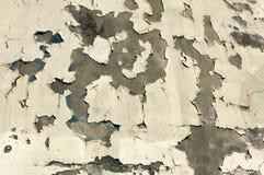 τοίχος αποφλοίωσης χρωμάτων Στοκ Φωτογραφία