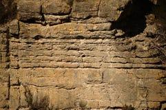 Τοίχος απότομων βράχων Στοκ φωτογραφίες με δικαίωμα ελεύθερης χρήσης