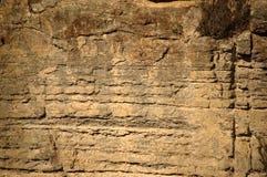 Τοίχος απότομων βράχων Στοκ Φωτογραφία