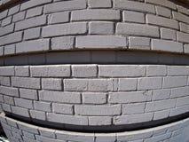 Τοίχος από τα γκρίζα τούβλα Στοκ Φωτογραφία