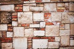 Τοίχος από τα τούβλα Στοκ φωτογραφία με δικαίωμα ελεύθερης χρήσης