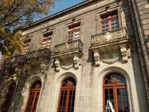 Τοίχος από το παλάτι της Marie Antoinet σε Chapultepec Στοκ εικόνες με δικαίωμα ελεύθερης χρήσης