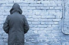 τοίχος ατόμων Στοκ Εικόνες