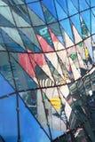 τοίχος Βαρσοβία αγορών τ&eta Στοκ Φωτογραφίες