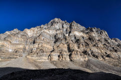 Τοίχος βουνών στο Τατζικιστάν Στοκ Εικόνες