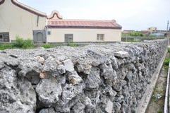 Τοίχος βράχου κοραλλιών στοκ φωτογραφία με δικαίωμα ελεύθερης χρήσης