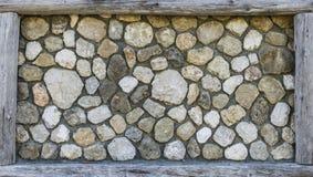 Τοίχος βράχου με το πλαίσιο στοκ φωτογραφία με δικαίωμα ελεύθερης χρήσης