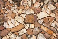 τοίχος βράχου προτύπων Στοκ Εικόνες