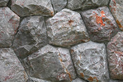 Τοίχος βράχου σύστασης για το υπόβαθρο Στοκ Εικόνα