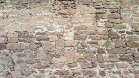 Τοίχος βράχου του αρχαίου σπιτιού στοκ εικόνες