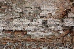 τοίχος βράχου Στοκ εικόνες με δικαίωμα ελεύθερης χρήσης