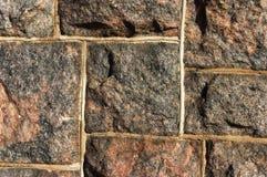τοίχος βράχου Στοκ Εικόνες