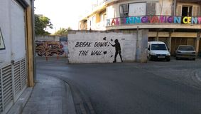 τοίχος βλάβης Στοκ φωτογραφία με δικαίωμα ελεύθερης χρήσης