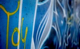 τοίχος γκράφιτι σχεδίων Στοκ φωτογραφία με δικαίωμα ελεύθερης χρήσης