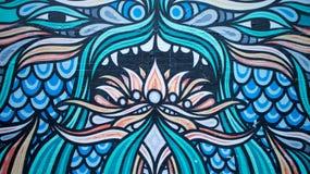 Τοίχος γκράφιτι Στοκ Φωτογραφίες