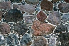 Τοίχος γρανίτη από το υπόβαθρο Στοκ Φωτογραφία