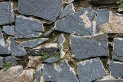 τοίχος γρανίτη Στοκ Φωτογραφία