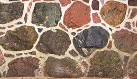 Τοίχος γρανίτη Στοκ Φωτογραφίες